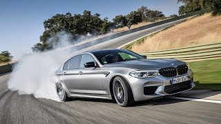 BMW M5 Competition on a race track - my own driving experience :: [1001cars]