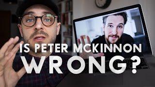 Is Peter McKinnon WRONG?