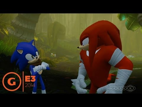 Sonic Boom Rise of Lyric Stage Demo - E3 2014