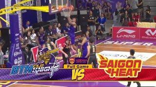 Full Games BTN CLS Knights Indonesia VS Saigon Heat (Playoff Quarter Final Game 3) ABL 2018-2019