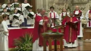 April 9, 2017: Holy Eucharist on Palm Sunday at Washington National Cathedral