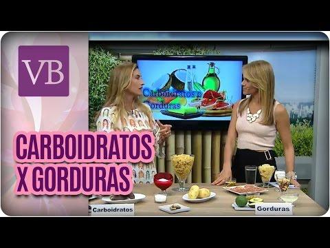 Você Bonita - Como consumir gorduras e carboidratos (27/01/16)