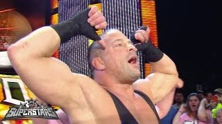Rob Van Dam vs. Curt Hawkins: WWE Superstars, Oct. 4, 2013