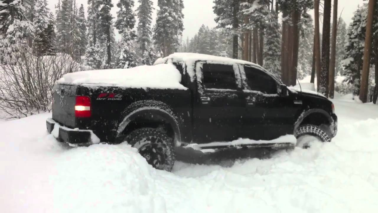 Ford F 150 Snow Plow >> F150 in the Snow - YouTube