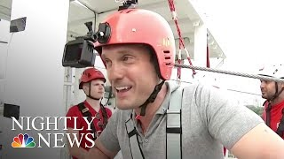 This London Zip Line Is Touted As Fastest In A Major City Center | NBC Nightly News