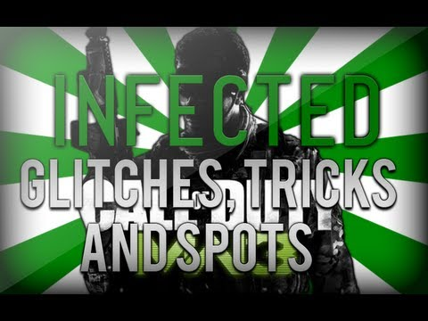 Modern Warfare 3 - Infected Glitches Tricks And Spots - AFTER PATCH