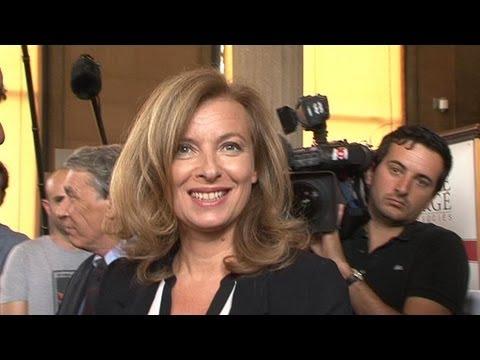 Valérie Trierweiler donne sa première interview officielle