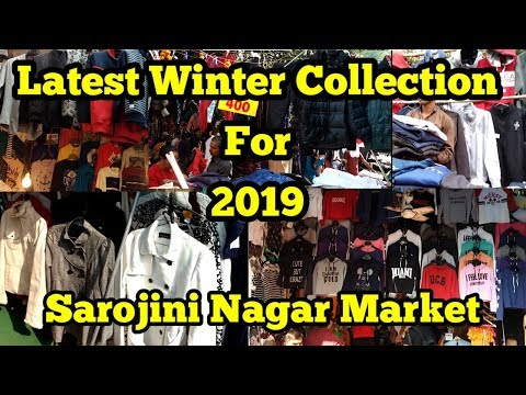 Winter Collection | Sarojini Nagar | 11th Nov 2k18