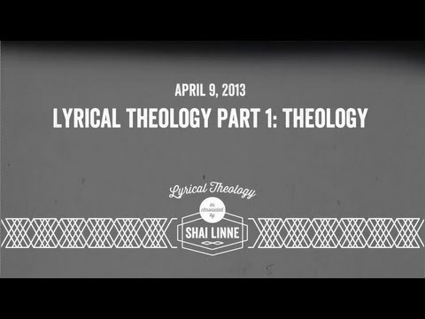 shai linne - Lyrical Theology Part 1: Theology