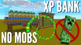 Minecraft XP Farm: No Mob XP Bank for Minecraft 1.14.3 | Peaceful Mode Adjustable XP Farm (Avomance)