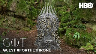 Throne of the Forest | Quest #ForTheThrone (HBO) - Dusk