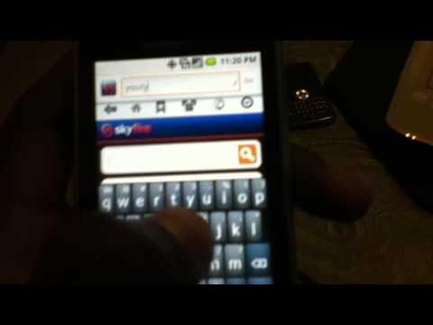 Lg Optimus M some features