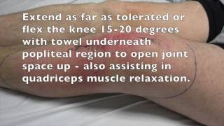 Knee Tap Procedure