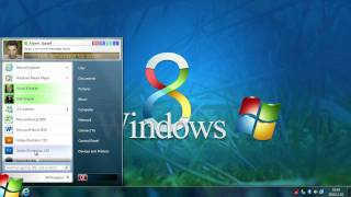 Windows 8 - Start Menu (Concept)