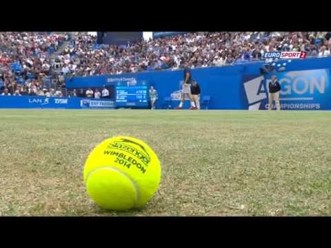 Grigor Dimitrov vs Feliciano Lopez Queens ATP World Tour 2014 Finals part 2