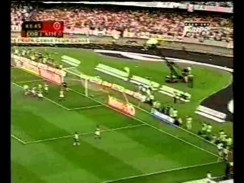 Corinthians 2 x 0 Atlético Mineiro  2º partida da final do Campeonato Brasileiro 1999.