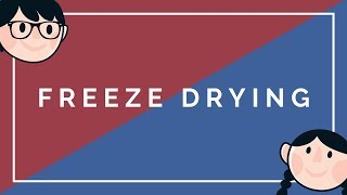 FREEZE DRYING | PRINCIPLE | PHARMACEUTICAL ENGINEERING