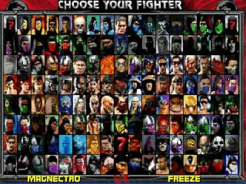 Image Result For Mortal Kombat Project Characters