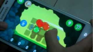 Rovio Bad Piggies Gameplay Episode 2-8 on Samsung Galaxy Note | When Pigs Fly 3 Stars Walkthrough