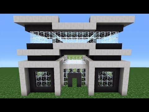Minecraft Tutorial: How To Make A Quartz House - 3