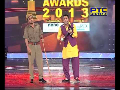 Ptc Punjabi Music Awards 2013 Binnu Dhillon Performance video