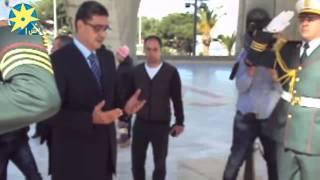 بالفيديو: رئيس النادي الأهلي يقرأ الفاتحة بمقام الشهيد بالجزائر علي هامش السوبر الأفريقي