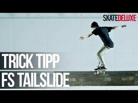 Skateboard Trick Tipp: Frontside Tailslide | Deutsch/German | skatedeluxe