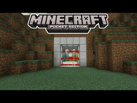 ПЕРВЫЙ МЕХАНИЗМ на КОМАНДНЫХ БЛОКАХ - ЛАЗЕРНАЯ ДВЕРЬ Minecraft PE 1.0.5