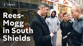 Jacob-Rees Mogg in South Shields - painting the town blue?