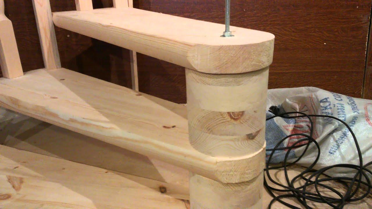 Винтовые лестницы своими руками из дерева фото чертежи