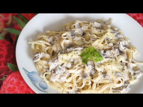 Сливочно - грибной соус