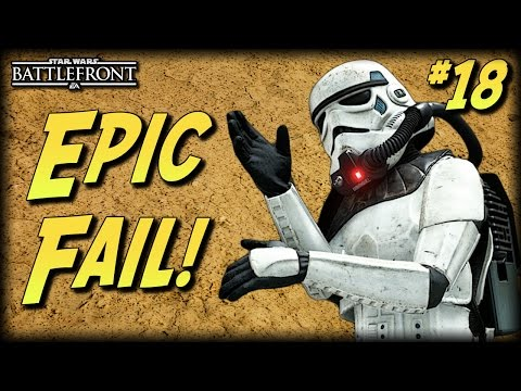 STAR WARS Battlefront - Unfortunate Moments #18 (Epic Fails! Random and Funny Moments!)