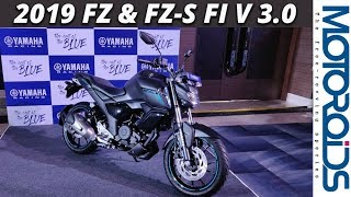 New 2019 Yamaha FZ & FZS-FI Version 3.0 First Impressions and Walkaround | Motoroids