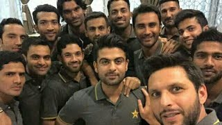 Pakistani Cricketers celebrating Eid ul Azha