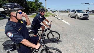 FWB Police use weekly bike ride to reach out to community