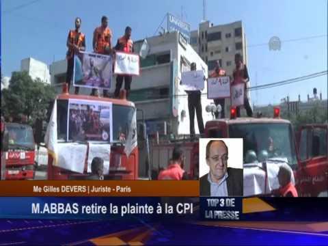 URGENT: Mahmoud Abbas retire la plainte auprès de la CPI
