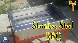 Stainless Steel Barbecue Part1 Ανοξείδωτη Ψησταριά