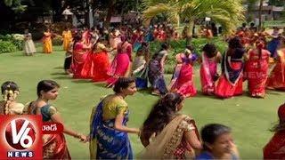 Atla Bathukamma Celebrations All Over Hyderabad Wo