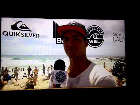Gabriel Medina Drops the F-Bomb in a bitter Post Heat Interview