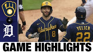 Corbin Burnes flourishes in shutout win over Detroit | Brewers-Tigers Game Highlights 9/9/20