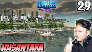 Rekreasi Pantai - Cities Skylines Indonesia - After Dark #29