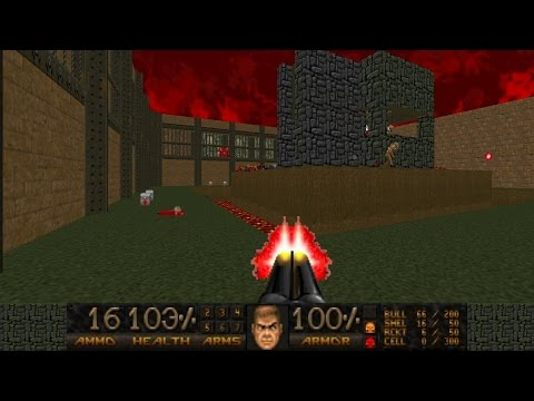 Doom2 Requiem MAP 25 Chaos Zone UV-Max in 1:55