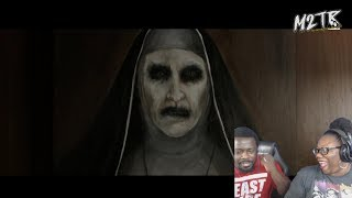 THE NUN - Official Teaser Trailer {REACTION!!}
