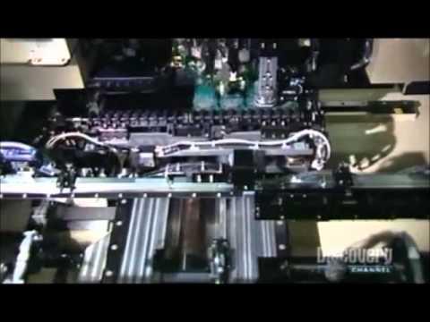 Automatización tecnológica: Fabricación de celulares.