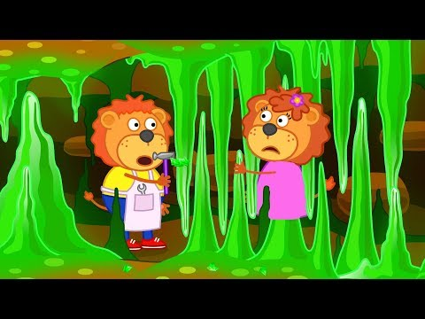 Lion Family Mistress of the Copper Mountain Cartoon for Kids