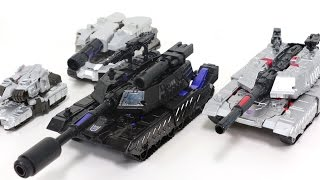 Transformers Generations Combiner Wars Decepticons Black Megatron Tank Vehicle Robot Car Toys