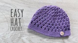 Download Tutorial Easy Crochet Hat 3Gp Mp4