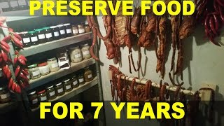How Every Food Storage Pantry Should Look Like (Best Meat Preservation Techniques)