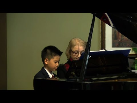 Gifted Young  Pianist Spreads Holiday Cheer