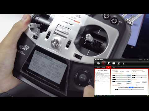 DJI Phantom NAZA How to Install and Set up Futaba SBUS Transmitter 8FG 14SG Radio with Failsafe Mix